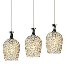 modern light fixtures for kitchen dinggu modern 3 lights crystal pendant lighting for kitchen