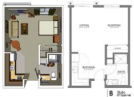 Studio Apartments The Studio Apartment Floor Plans Above Is Used Allow The