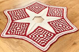 crochet tree skirt free crochet pattern