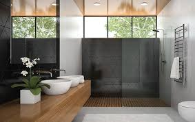 bathrooms ideas with tile barrie small green tiled photos remodel standing storage til modern
