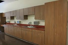 Wood Grain Laminate Cabinets Circleville City Schools Farnham Equipment Company