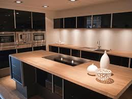 modern black kitchens kitchen luxury wood kitchen countertop for kitchen island and