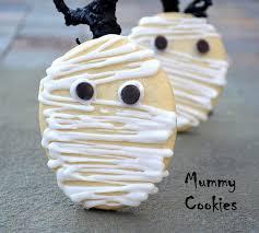 halloween mummy cookies souffle bombay