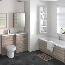 Hudson Reed Bathroom Furniture Hudson Reed Combination Furniture Basin Driftwood 1200 Right