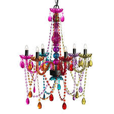 Multi Coloured Chandeliers 3c4g Chandelier Multi Color Home Kitchen