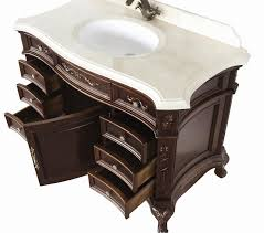 Bathroom Single Vanity by Constance Antique Style Bathroom Vanity Single Sink 50 2