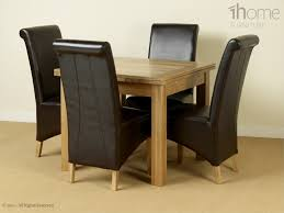 solid oak table with 6 chairs extendable dining room tables and chairs unique 9 extendable glass