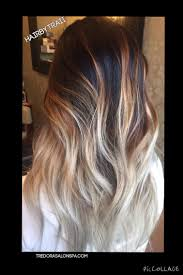 Dark Blonde To Light Blonde Ombre Transitioned From Level 2 10 Perfectly Balayage Highlights Dark