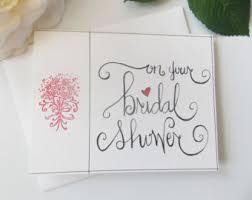 bridal shower gift card wedding card bridal shower card engagement card