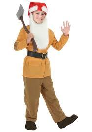 Dopey Dwarf Halloween Costume Child Brown Dwarf Costume Boys Halloween Costumes