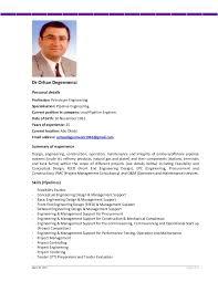 Offshore Resume Samples by Cv Mr Orhan Degermenci Lead Pipeline Engineer