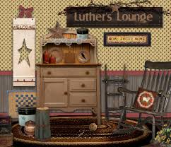 Primitive Country Home Decor Luthers Lounge