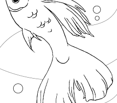 download coloring pages free fish coloring pages at model free