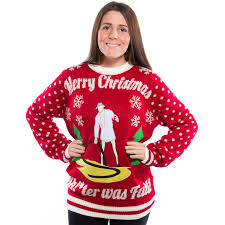 christmas vacation sh ter was full ugly christmas sweater