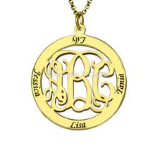 gold monogram popular gold monogram pendants buy cheap gold monogram pendants