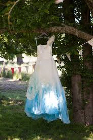 dip dye wedding dress dip dye brewster