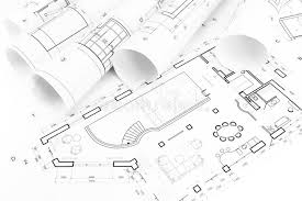 architect floor plans floor plan drawings stock image image of architecture 39325005