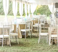 chiavari chair rentals silver chiavari chair rental by oconee events atlanta and athens ga