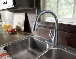 delta leland pull kitchen faucet delta leland kitchen faucet bathroom venetian thedailygraff