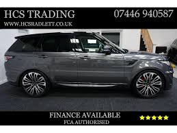 land rover suv sport used land rover range rover sport suv 3 0 sd v6 hse 4x4 5dr start