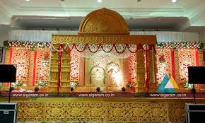 marriage decoration reception and marriage stage decoration at nt mahal 100ft road