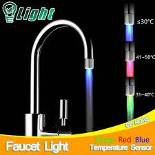 Water Faucet Night Light Faucet Light Chrome Led Faucet Light 1039 M4106 H2glow