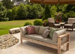 Build Outdoor Garden Table by Bench For Patio Home Design Ideas And Pictures