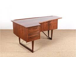 bureau scandinave vintage scandinavian desk in rosewood galerie møbler