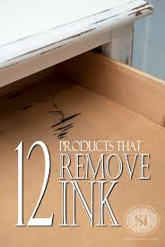 how to remove stains from wood table 12 products that remove ink stains from wood furniture salvaged