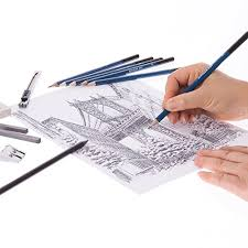 art set sketching u0026 drawing kit for professional or amateur