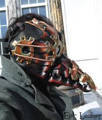 leather plague doctor mask steunk plague doctor mask profile by epic leather on deviantart