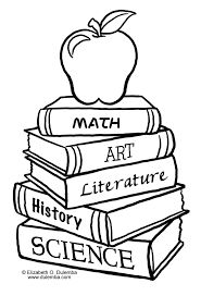 book colouring page funycoloring