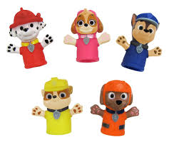 baby toddler kids bath toys babies paw patrol finger puppets