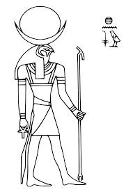 egyptian mythology 1 gods and goddesses u2013 printable coloring pages