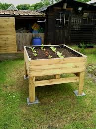 Wood For Raised Vegetable Garden by 122 Best Planter Boxes Images On Pinterest Vegetable Garden