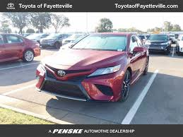 2018 new toyota camry xse automatic at toyota of fayetteville