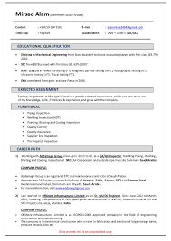 best solutions of qa qc resume sample on format sample gallery