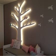 lighted wall tree bedrooms light walls trees and ps