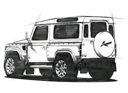 kahn land rover defender double cab land rover defender sketch land rovers pinterest land rover