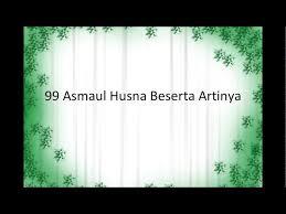 download mp3 asmaul husna youtube 99 asmaul husna beserta artinya site4news