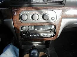 how do i remove the factory stereo from my 2004 sebring