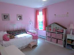 a pink room without princess accessories