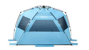 amazon com pacific breeze easy up beach tent deluxe xl sports