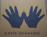 menorah for kids random handprints a nyc live from new jersey