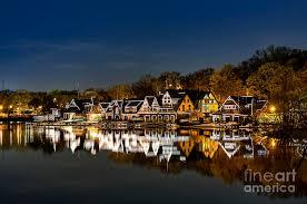 Boat House Row - boathouse row photograph by john greim
