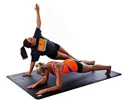 amazon com pogamat large exercise mat 78