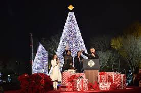 lighting the tree 2016 national tree lighting