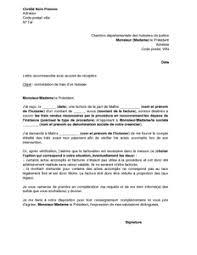 chambre des huissiers exemple gratuit de lettre contestation frais facturés par huissier