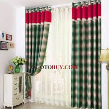 Pottery Barn Madras Curtains Stunning Plaid Blackout Curtains Inspiration With Madras Blackout