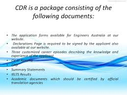 resume template for experienced engineers australia cdr format competency demonstration report or cdr